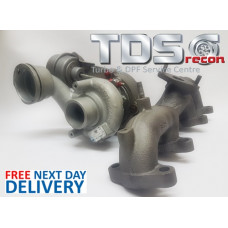 TURBOCHARGER VW TRANSPORTER 1.9 TDI 54399700020/09/ 97